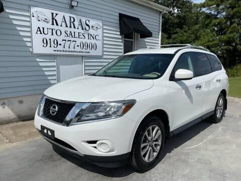 2014 Nissan Pathfinder for sale at Karas Auto Sales Inc. in Sanford NC