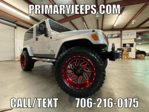 2005 Jeep Wrangler for sale at Primary Auto Group in Dawsonville GA