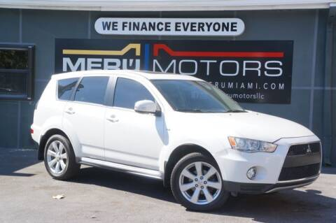 2013 Mitsubishi Outlander for sale at Meru Motors in Hollywood FL