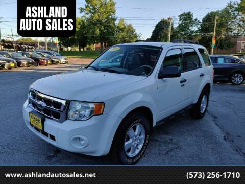 2009 Ford Escape for sale at ASHLAND AUTO SALES in Columbia MO