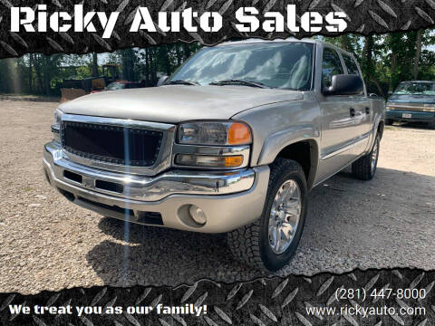 2005 GMC Sierra 1500 for sale at Ricky Auto Sales in Houston TX