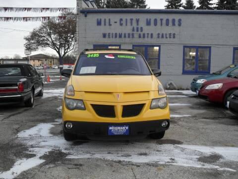 2002 Pontiac Aztek for sale at Weigman's Auto Sales in Milwaukee WI