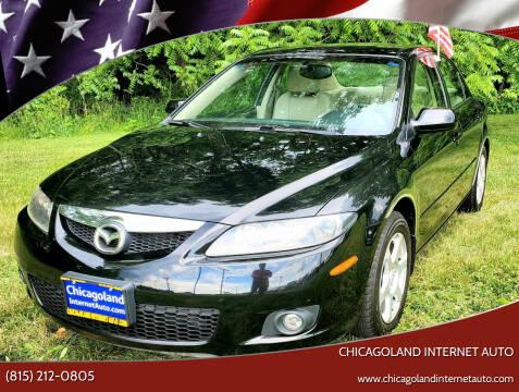 2006 Mazda MAZDA6 for sale at Chicagoland Internet Auto - 410 N Vine St New Lenox IL, 60451 in New Lenox IL