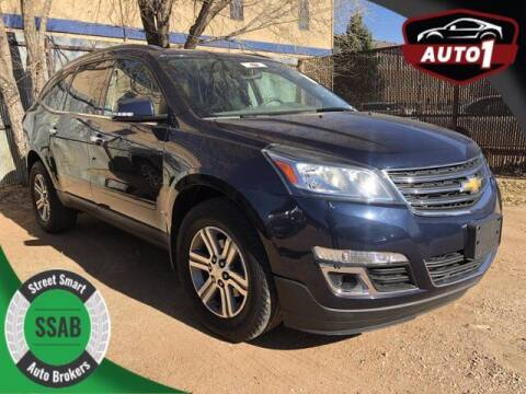 2016 Chevrolet Traverse for sale at Street Smart Auto Brokers in Colorado Springs CO