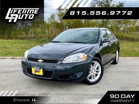2014 Chevrolet Impala Limited for sale at Lifetime Auto in Elwood IL