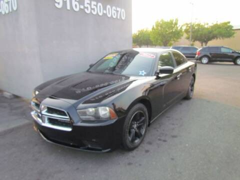 2012 Dodge Charger for sale at LIONS AUTO SALES in Sacramento CA