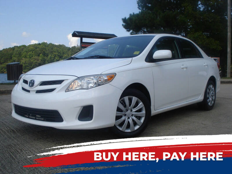 2012 Toyota Corolla for sale at Car Store Of Gainesville in Oakwood GA