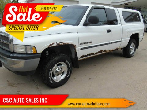 2001 Dodge Ram Pickup 1500 for sale at C&C AUTO SALES INC in Charles City IA