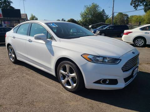 2014 Ford Fusion for sale at Universal Auto Sales in Salem OR