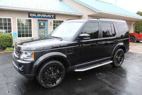 2016 Land Rover LR4 for sale at Summit Motorcars in Wooster OH