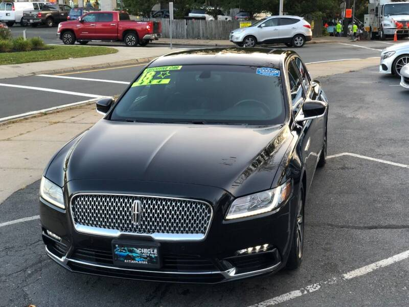 2018 Lincoln Continental for sale at Circle Auto Sales in Revere MA