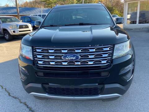 2016 Ford Explorer for sale at Morristown Auto Sales in Morristown TN