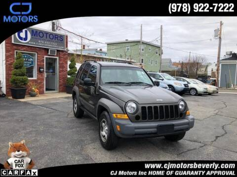 2006 Jeep Liberty for sale at CJ Motors Inc. in Beverly MA