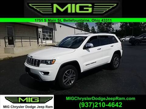 2018 Jeep Grand Cherokee for sale at MIG Chrysler Dodge Jeep Ram in Bellefontaine OH