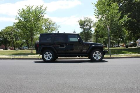 2013 Jeep Wrangler Unlimited for sale at Lexington Auto Club in Clifton NJ