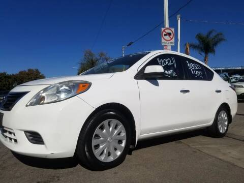 2012 Nissan Versa for sale at Olympic Motors in Los Angeles CA