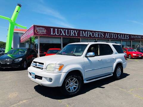 2005 Toyota Sequoia for sale at LUXURY IMPORTS AUTO SALES INC in North Branch MN
