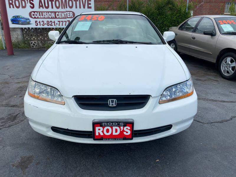 2000 Honda Accord for sale at Rod's Automotive in Cincinnati OH