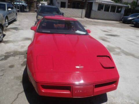 1984 Chevrolet Corvette for sale at AJ'S Auto Sale Inc in San Bernardino CA