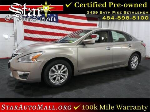 2014 Nissan Altima for sale at STAR AUTO MALL 512 in Bethlehem PA