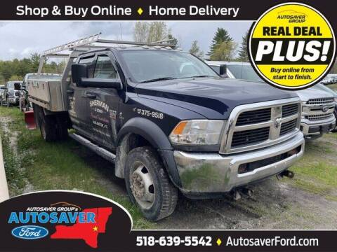 2012 RAM Ram Chassis 4500 for sale at Autosaver Ford in Comstock NY