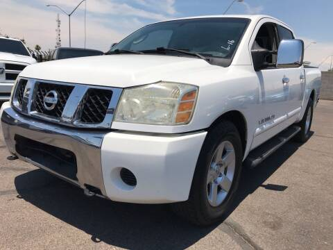 2005 Nissan Titan for sale at Town and Country Motors in Mesa AZ