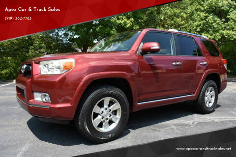 2011 Toyota 4Runner for sale at Apex Car & Truck Sales in Apex NC
