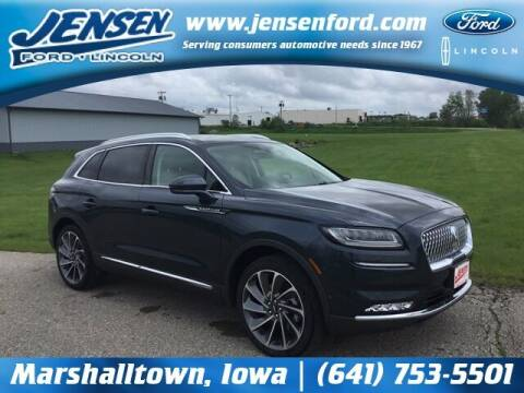 2021 Lincoln Nautilus for sale at JENSEN FORD LINCOLN MERCURY in Marshalltown IA