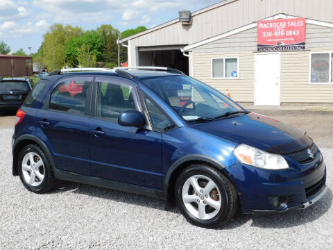 2008 Suzuki SX4 Crossover for sale at Macrocar Sales Inc in Akron OH