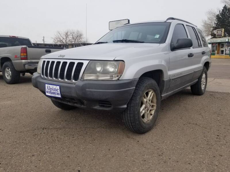 2002 Jeep Grand Cherokee for sale at Alpine Motors LLC in Laramie WY
