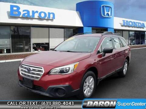 2017 Subaru Outback for sale at Baron Super Center in Patchogue NY