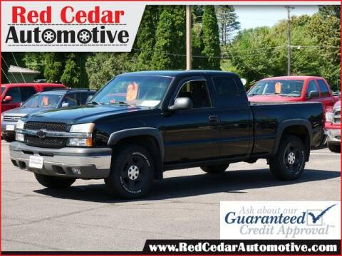 2004 Chevrolet Silverado 1500 for sale at Red Cedar Automotive in Menomonie WI