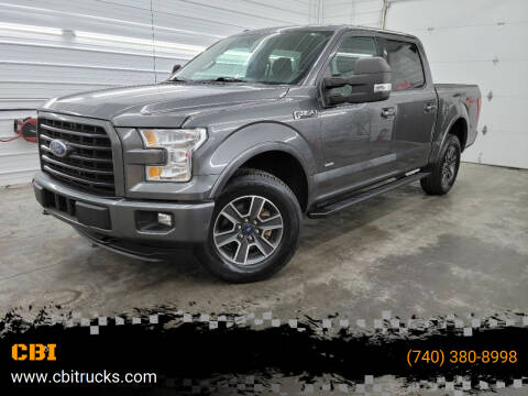 2015 Ford F-150 for sale at CBI in Logan OH