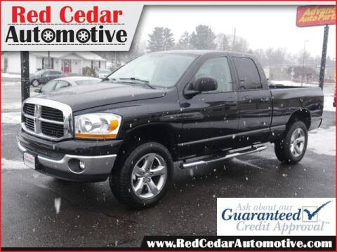 2006 Dodge Ram Pickup 1500 for sale at Red Cedar Automotive in Menomonie WI