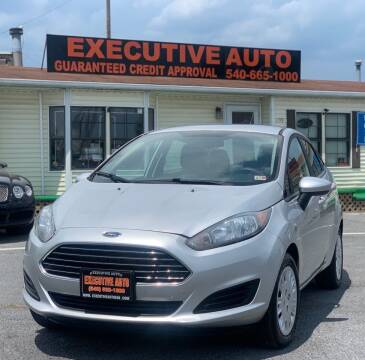 2018 Ford Fiesta for sale at Executive Auto in Winchester VA