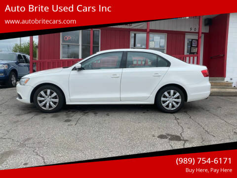 2013 Volkswagen Jetta for sale at Auto Brite Used Cars Inc in Saginaw MI