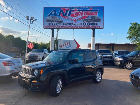 2015 Jeep Renegade for sale at ANF AUTO FINANCE in Houston TX