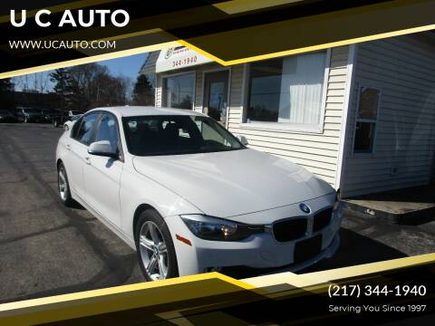 2014 BMW 3 Series for sale at U C AUTO in Urbana IL