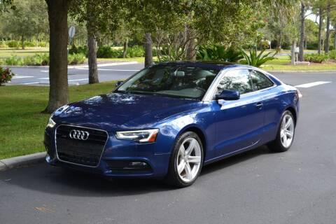 2013 Audi A5 for sale at GulfCoast Motorsports in Osprey FL