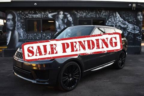 2019 Land Rover Range Rover Sport for sale at STS Automotive - Miami, FL in Miami FL