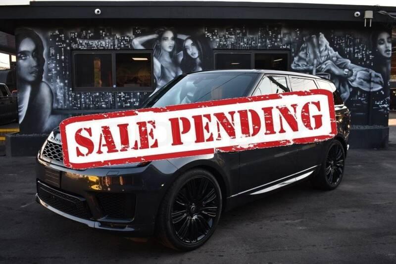 2019 Land Rover Range Rover Sport for sale at STS Automotive - Miami, FL in Miami FL
