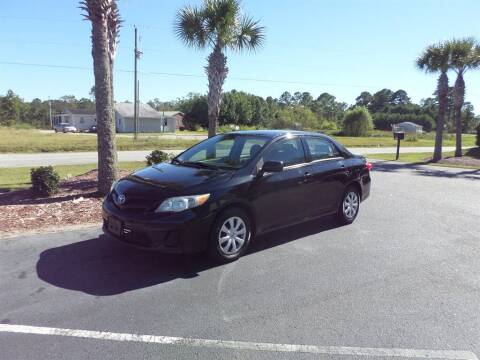 2011 Toyota Corolla for sale at First Choice Auto Inc in Little River SC