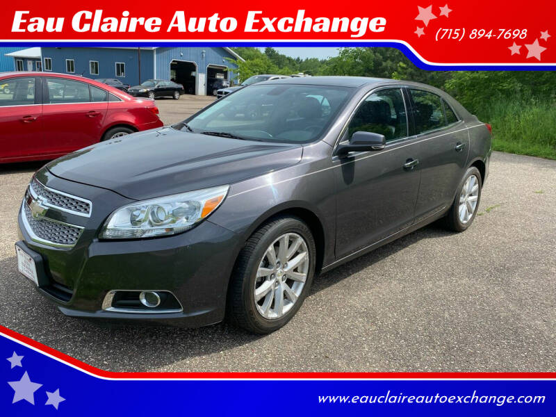 2013 Chevrolet Malibu for sale at Eau Claire Auto Exchange in Elk Mound WI