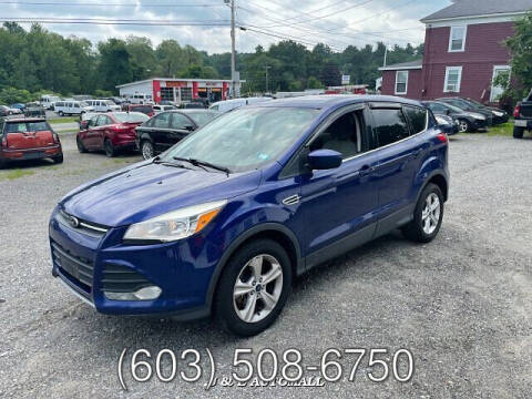 2014 Ford Escape for sale at J & E AUTOMALL in Pelham NH