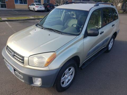 2001 Toyota RAV4 for sale at KC Cars Inc. in Portland OR