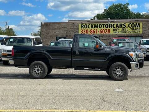 2015 Ford F-350 Super Duty for sale at ROCK MOTORCARS LLC in Boston Heights OH