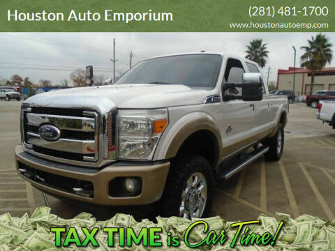 2011 Ford F-250 Super Duty for sale at Houston Auto Emporium in Houston TX