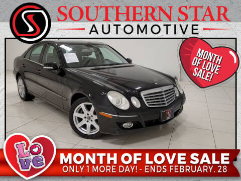 2008 Mercedes-Benz E-Class for sale at Southern Star Automotive, Inc. in Duluth GA