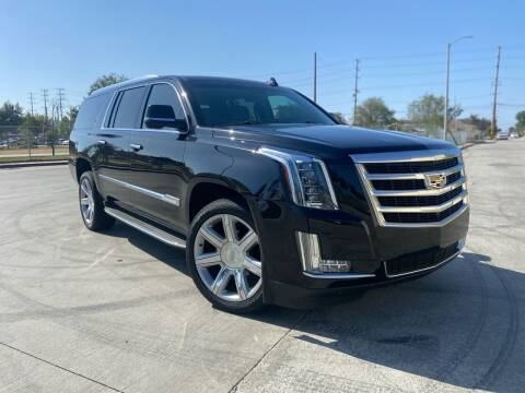 2017 Cadillac Escalade ESV for sale at Affordable Auto Solutions in Wilmington CA