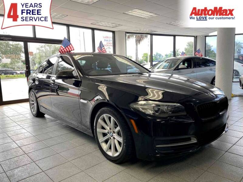 2014 BMW 5 Series for sale at Auto Max in Hollywood FL